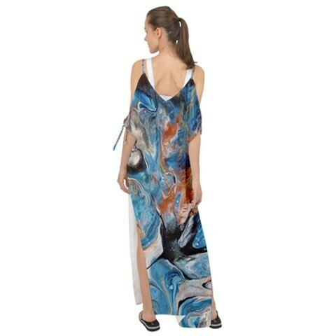Chiffon Cover Up - Maxi Length