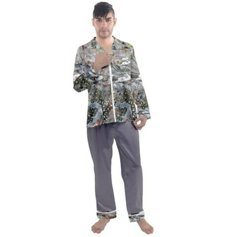 Men's Satin Pajamas