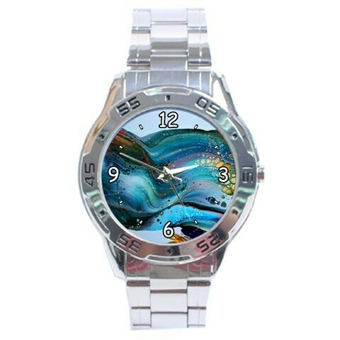 Stainless Steel Sporty Watch