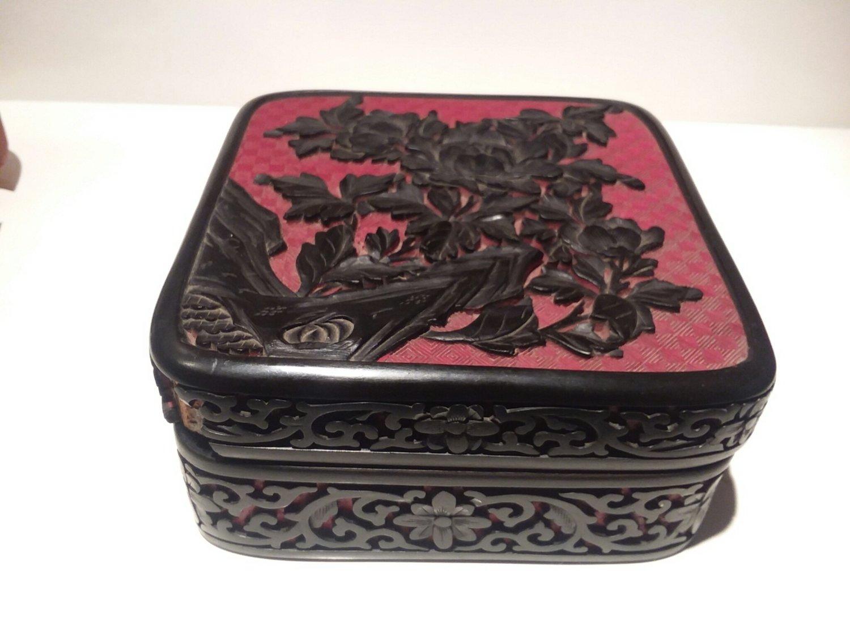 Cinnebar box