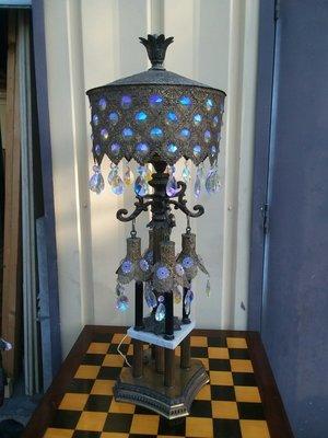 Lamp of gypsy queen