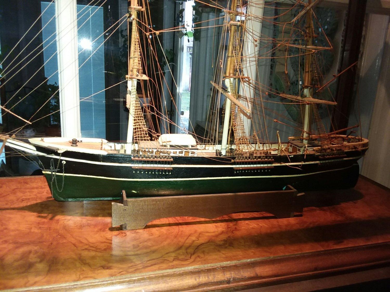 Antique Wood Ship