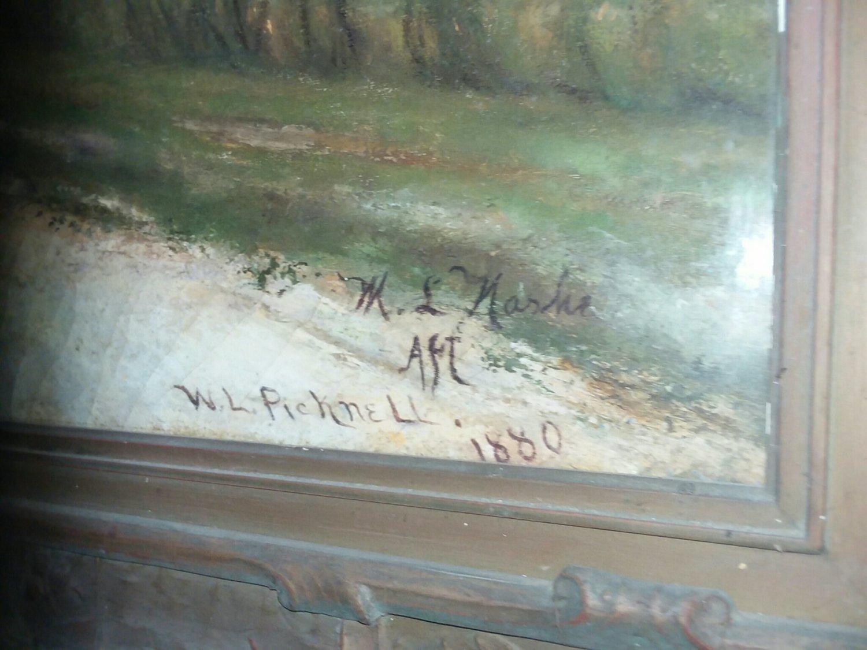 William Lamb Picknell Oil Painting Le chemin de Concarneau  c1880