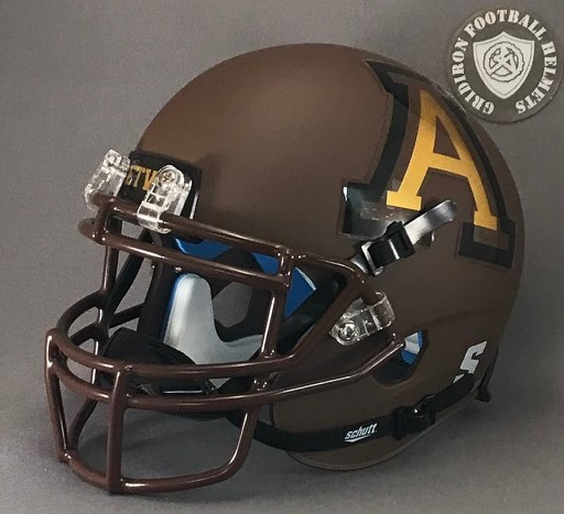 Texas High School Football Mini Helmet McAllen Bulldogs 2013-2015