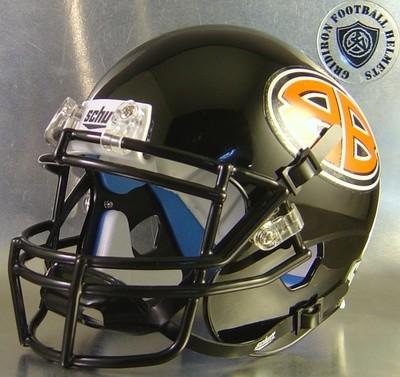 Burkburnett Bulldogs High School 2015 (TX) - mini-helmet