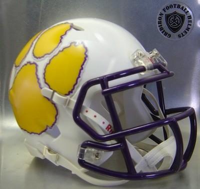 Carrizo Springs Wildcats HS 2016 (TX) - mini-helmet