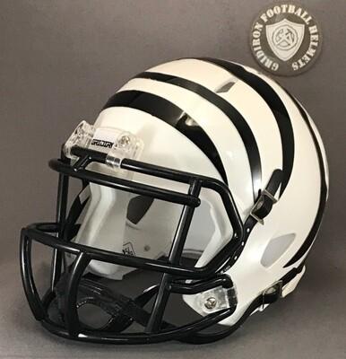 Grandview Zebras HS 2016-2018 (TX) - mini-helmet