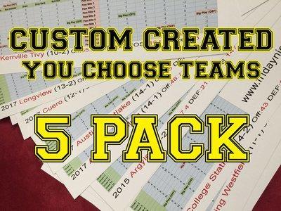 Custom Created 5-Pack (FNL)