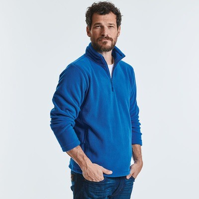 8740M Russell half-zip outdoor fleece