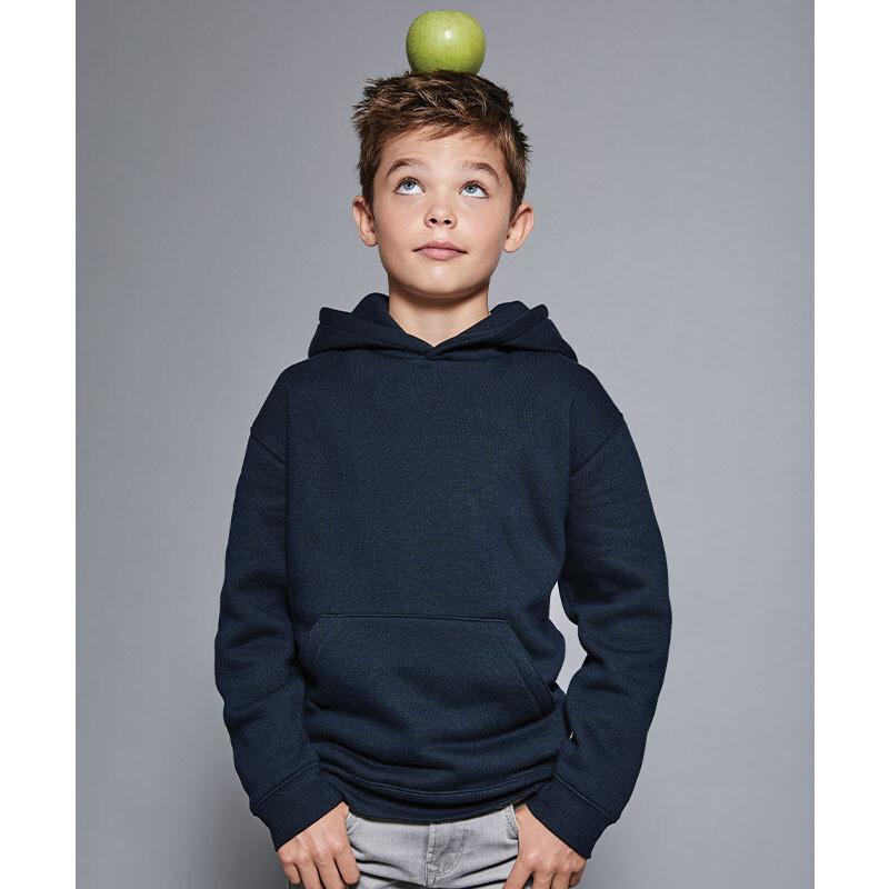 J265B Russell Kids authentic hooded sweatshirt
