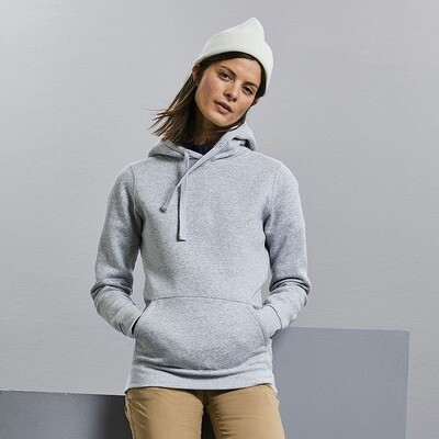 J265F Russell Women's authentic hooded sweatshirt