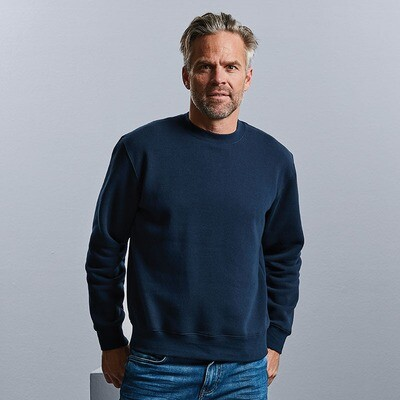 J262M Russell Set-in sleeve sweatshirt