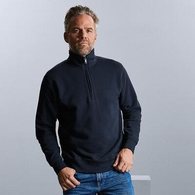 J270M Russell Authentic half zip sweatshirt