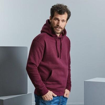 J261M Russell Authentic melange hooded sweatshirt
