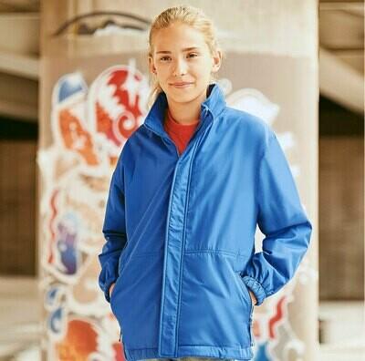 J875B Russell Kids reversible school jacket
