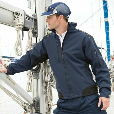 R124A Result Workwear softshell jacket