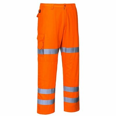RT49 Portwest Hi-Vis three band combat trousers