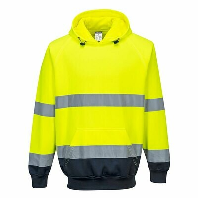B316 Portwest Hi-Vis two tone hoody
