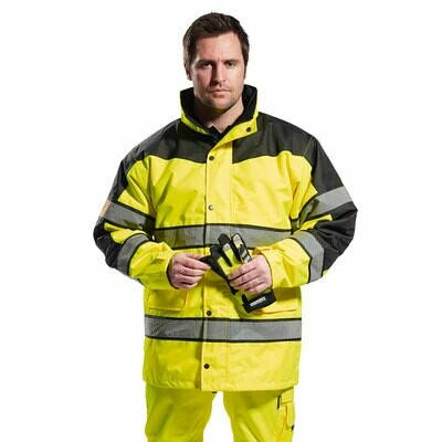 S462 Portwest Hi-Vis two tone jacket