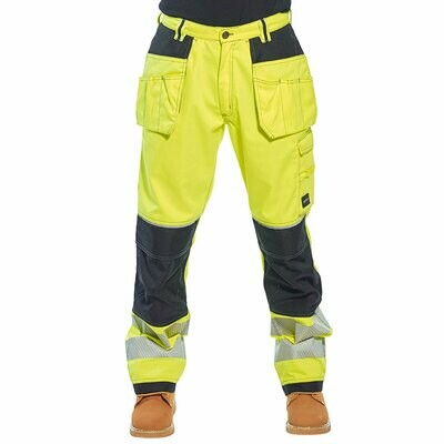 T501 Portwest Hi-Vis work trousers
