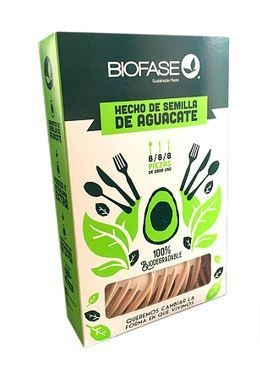 Cubiertos Biodegradables