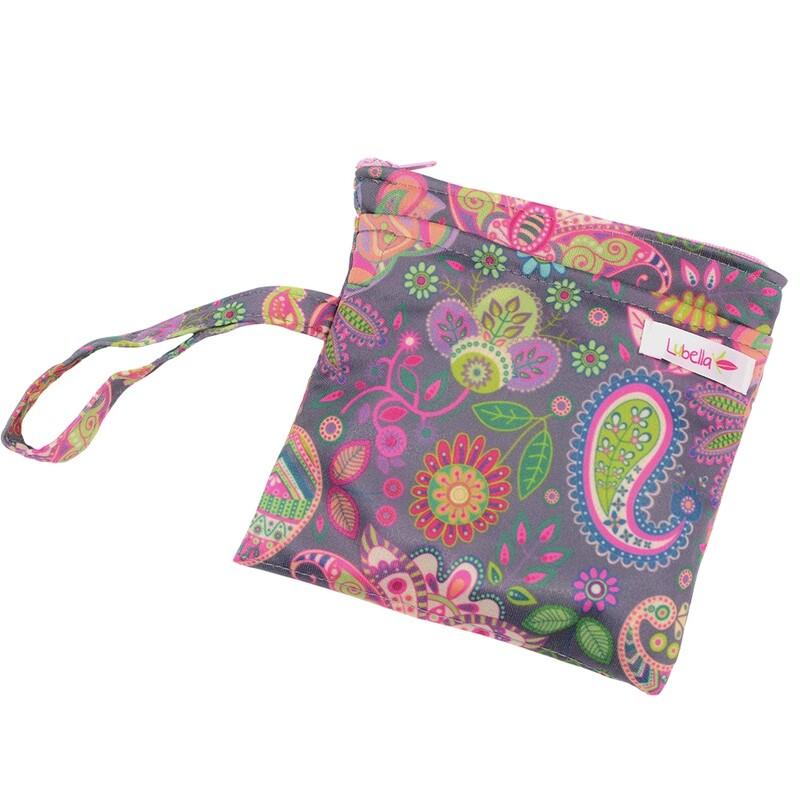 Bolsa para toallas femeninas - Flores étnicas