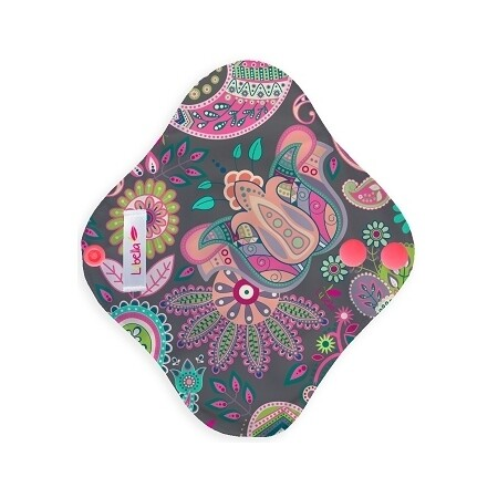 Pantiprotector de tela - Flores étnicas