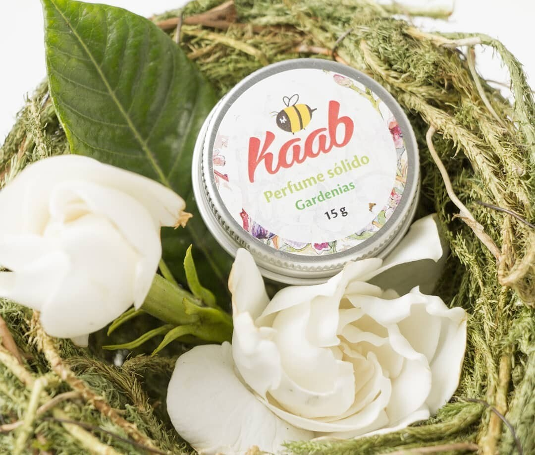 Perfume sólido de Gardenias