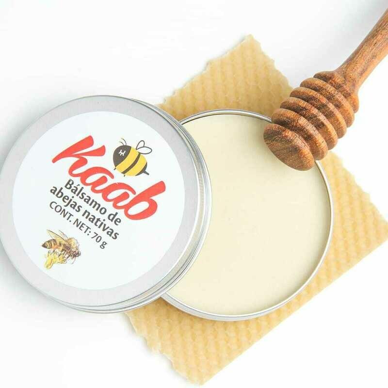 Bálsamo de abejas nativas