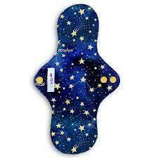 Toalla femenina nocturna - Estrellas