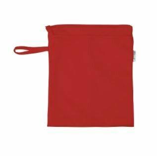 Bolsa para pañales roja