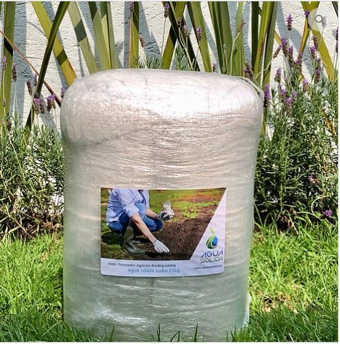 Agua Sólida de Sodio - 25 kg