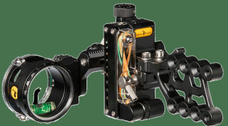 2018 Trophy Ridge React One Pro RH/LH .010 / .019 Black 00011