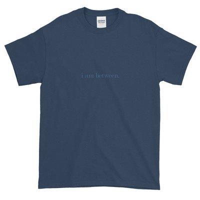 I Am Between T-shirt (Navy)