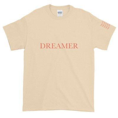 Dreamer T-shirt (Natural & Red)