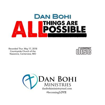 CD - All Things Are Possible (Dan Bohi)