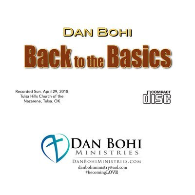 CD - Back to the Basics (Dan Bohi)