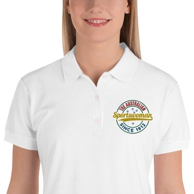 The ASW Embroidered Polo Shirt