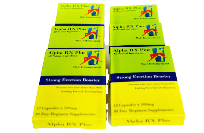 Alpha RX Plus-6 boxes-save 5% =($11.26) + free shipping