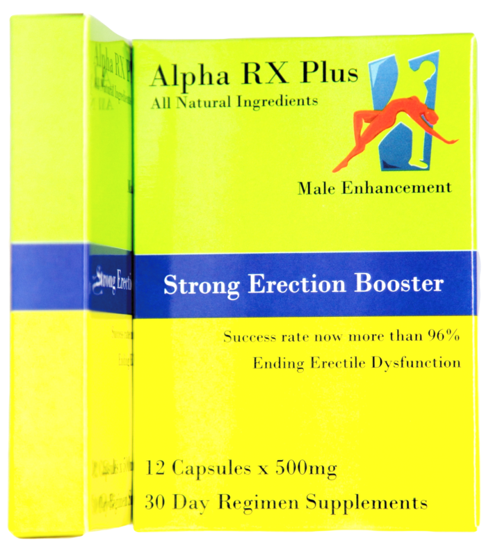 Alpha RX Plus-all natural 30 day 12 capsules. Click picture to enlarge.
