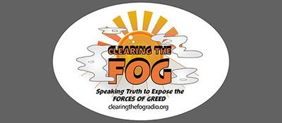 Clearing The FOG Bumper Sticker