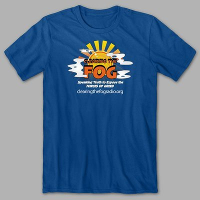 Clearing The Fog T-Shirt (blue)