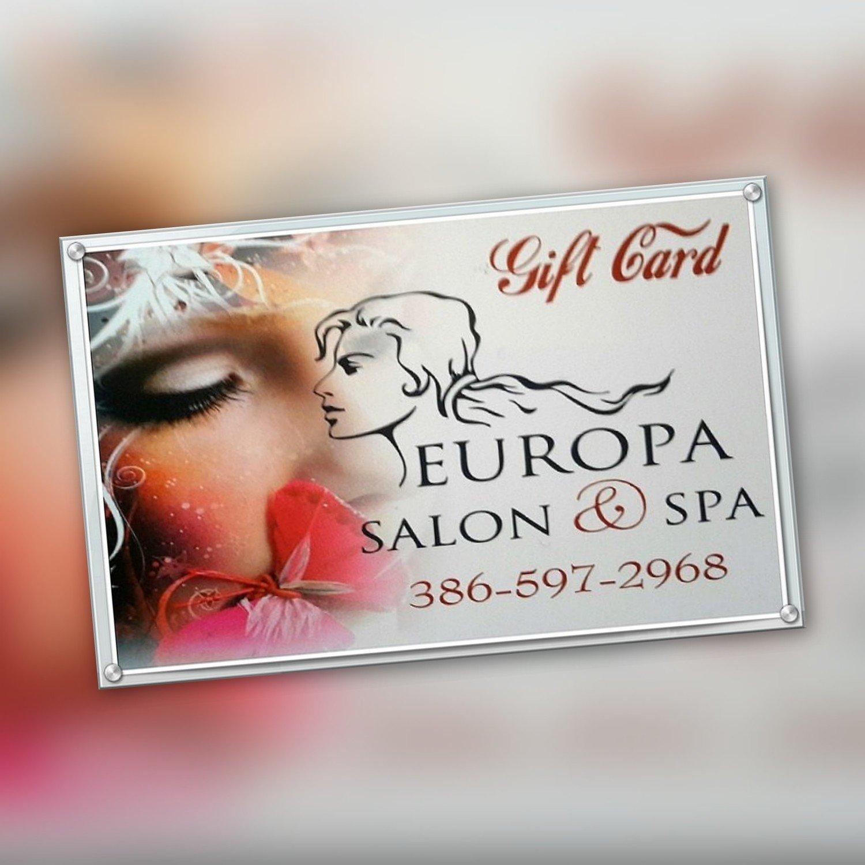 Europa Salon and Spa Gift Card $750