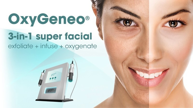 Save $125  OxyGeneo 3-in-1 Super Facial