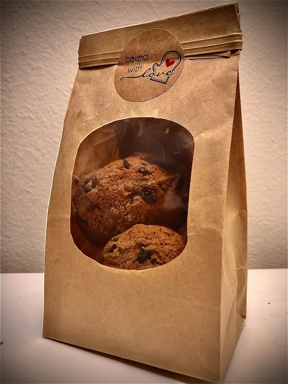Chocolate Chip Cookies (Vegan & Gluten-Free)