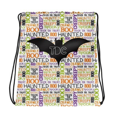 Halloween drawstring backpack