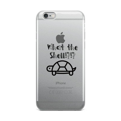 What the shell IPhone case