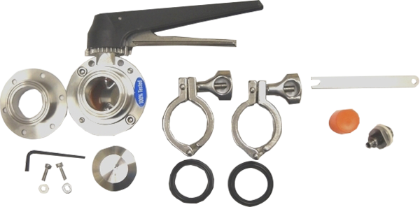 AK1 - Combo 6-Bolt Flange Accessory Kit 1.5 in. (Includes VF1, BV3 and SV3 )