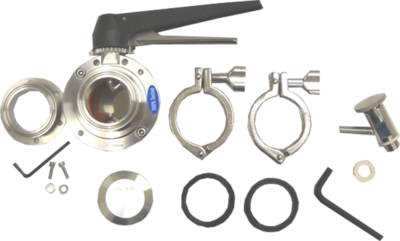 AK2T - Combo 6-Bolt Flange Accessory Kit 2 in. (Includes VF2, BV4 and SV1T)