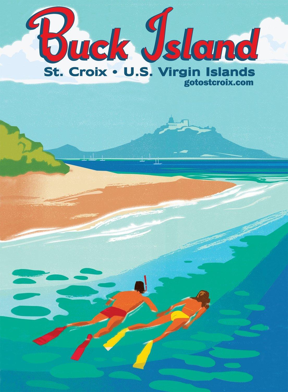 Poster: Buck Island